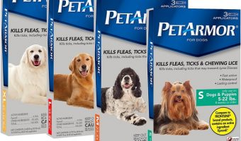 3-month Supply PETARMOR Flea & Tick Treatment for Dogs and Cats As Low As $8.98