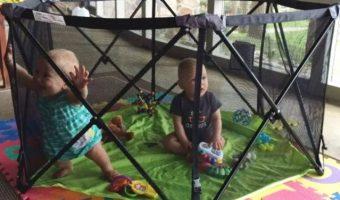 Summer Infant Pop N' Play Portable Playard w/ Half Canopy $62.53 (reg. $99.99)
