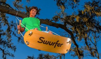 Swurfer Stand Up Surfing Swing $89.99 Today Only (reg. $130)