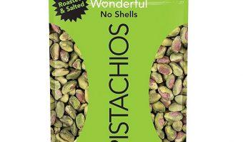 5-pack 6oz Bags Wonderful Pistachios $17.04 (reg. $20.94)