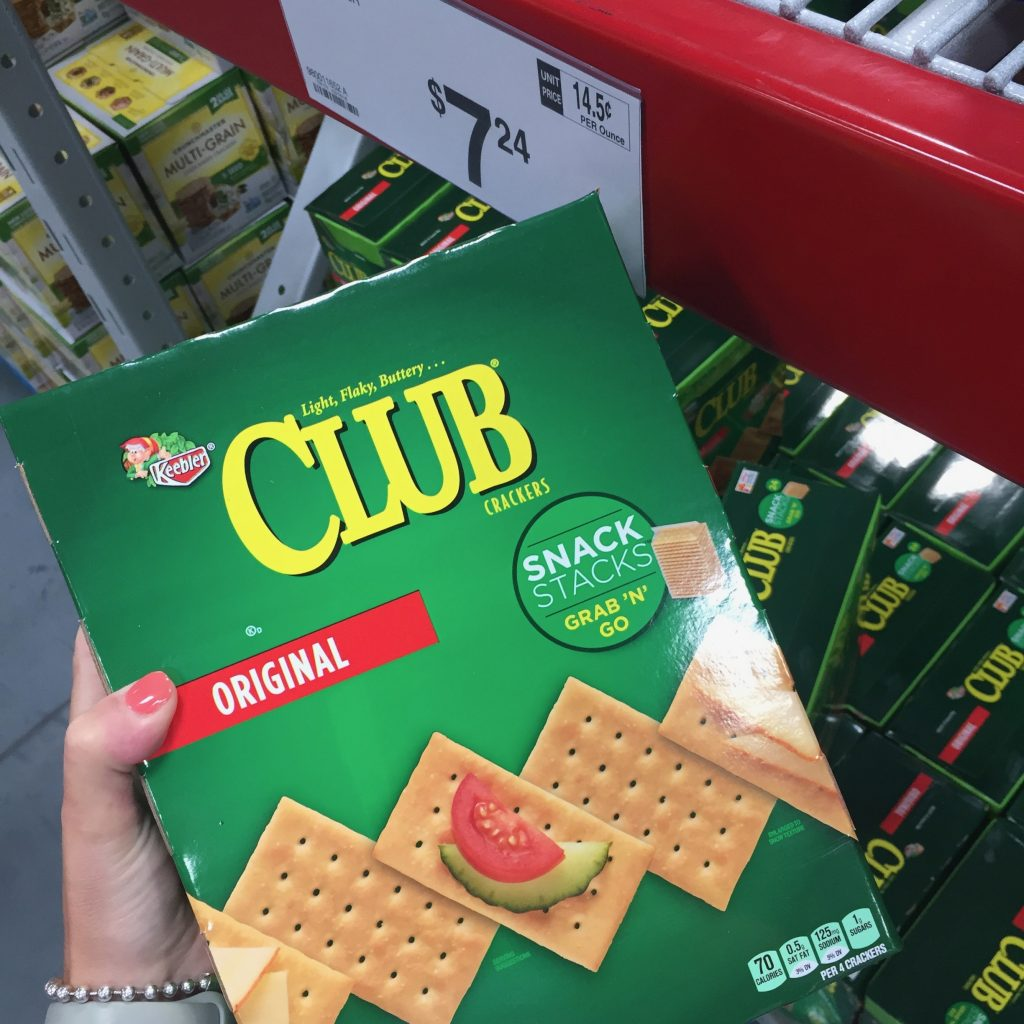 club crackers come in snack packs making them perfect for the pool or bar-b-ques!