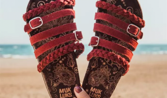 MUK LUKS Terri Sandals Ship for $24.99