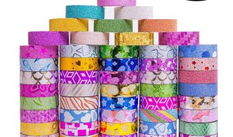 50 Rolls Glitter Washi Masking Tape $9.99 (reg. $19.99)