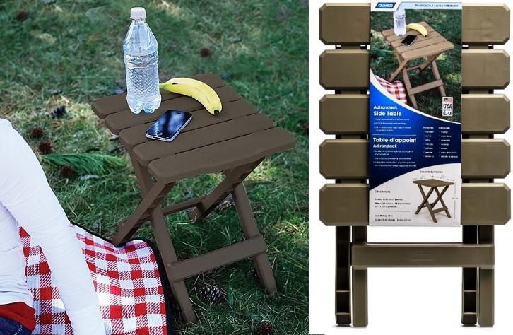 Adirondack Portable Outdoor Folding Side Table