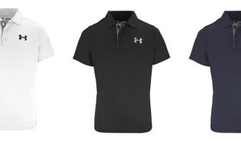 Boys Under Armour Polo Shirts Ship for $18.99 (Reg. $29.99!)