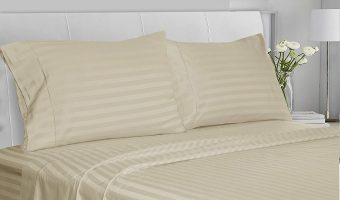 Save on Luxury 100% Cotton Sateen Sheet Sets Today Only
