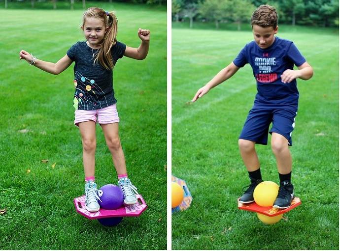 Flybar Pogo Ball Trick Board