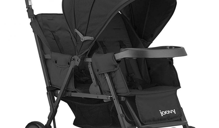 JOOVY Caboose Too Graphite Stand-On Tandem Stroller $102.66 (reg. $179.99)