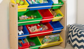 Kids Wood Toy Organizer $38.44 (reg. $68.75)
