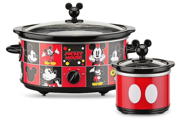 Mickey Mouse Oval Slow Cooker with 20-Ounce Dipper