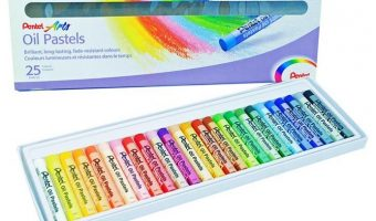 Pentel Arts Oil Pastels 25 Color Set $5.63