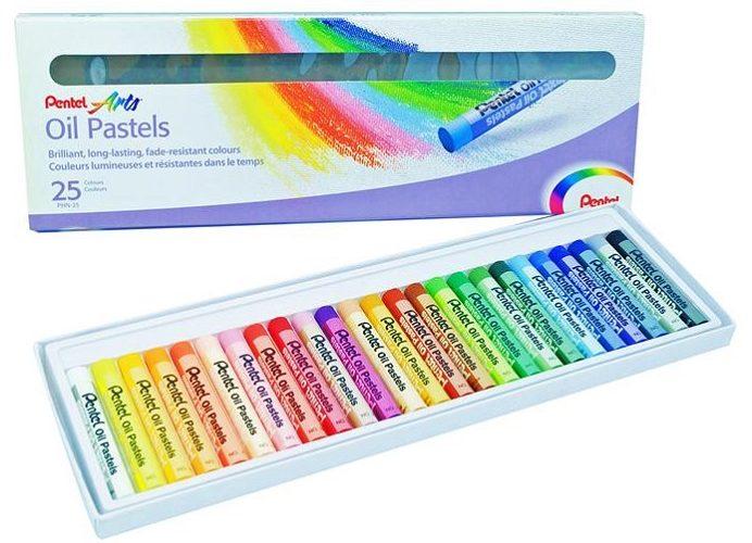 Pentel Arts Oil Pastels 25 Color Set $5.63