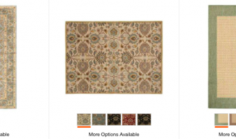 Home Depot: Area Rugs on Sale ($100-$400 Off Regular Prices!)