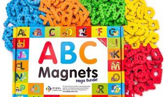 Mega-Bundle Premium ABC Magnets $15.99 Today Only