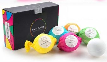 Anjou 6ct. Bath Bombs Gift Set $5.39 (reg. $12.99)