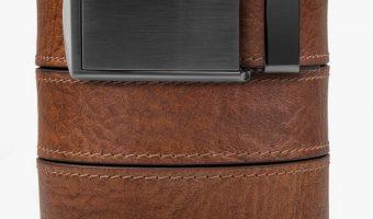 Full Grain Leather Ratchet Belts $59.95 (reg. $120)