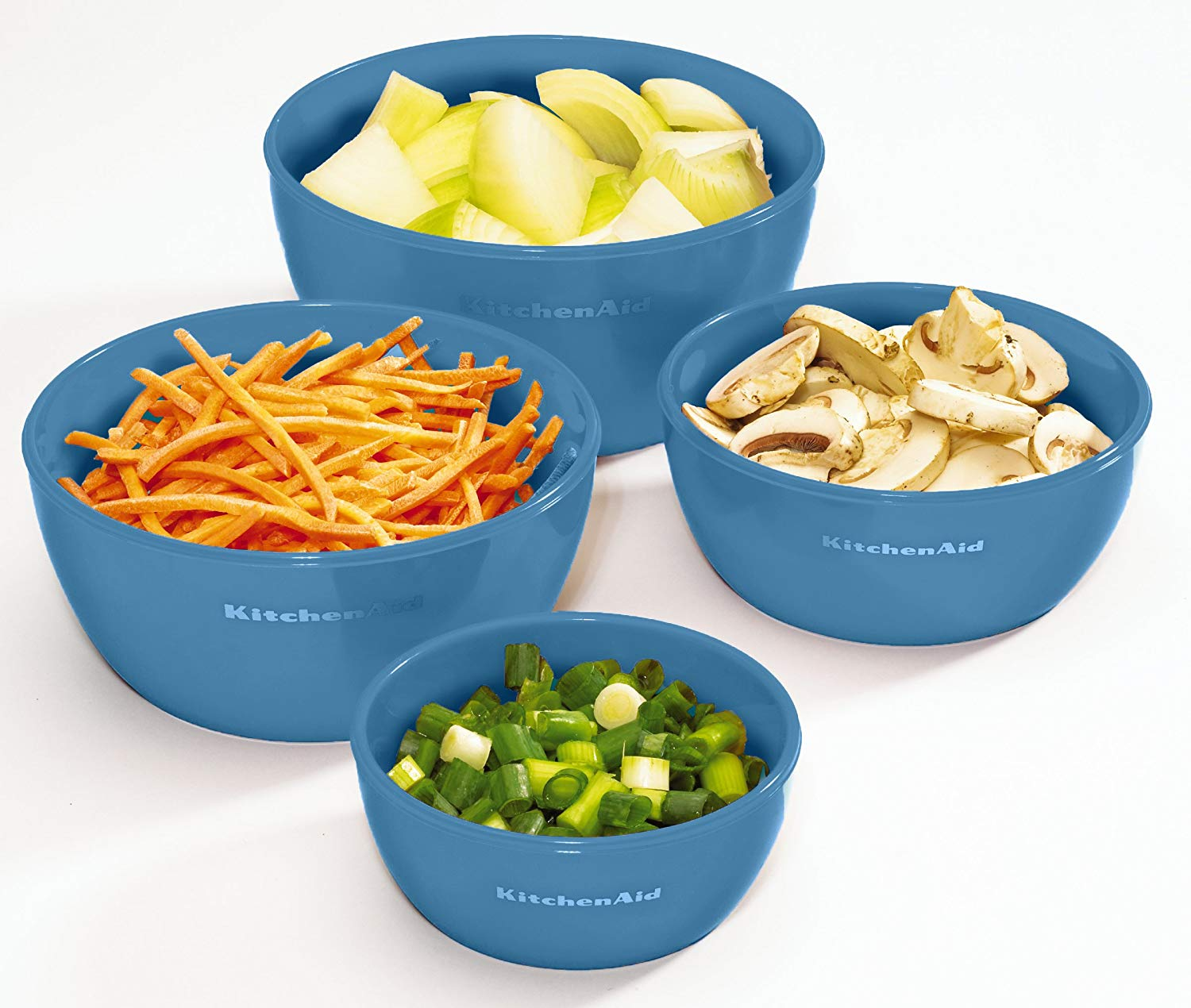 Set of 4 Kitchenaid Prep Bowls with Lids $9.89 -