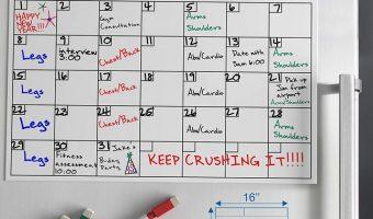 Magnetic Dry Erase Calendar Board $9.97 (reg. $19.99)