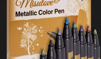 10ct. Metallic Marker Pens $10.59