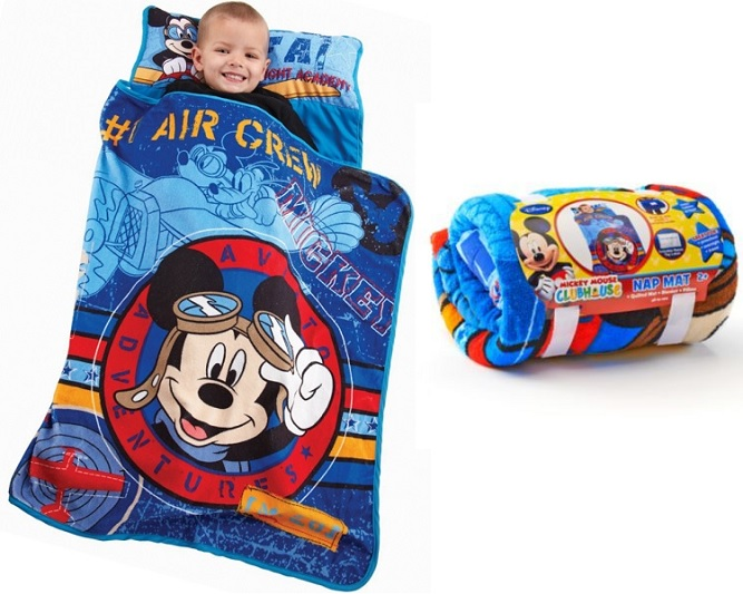 Mickey Mouse Toddler Rolled Nap Mat