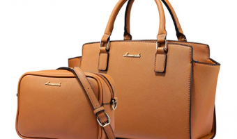 Tote and Crossbody Leather Bag Set Just $14 Per Purse!