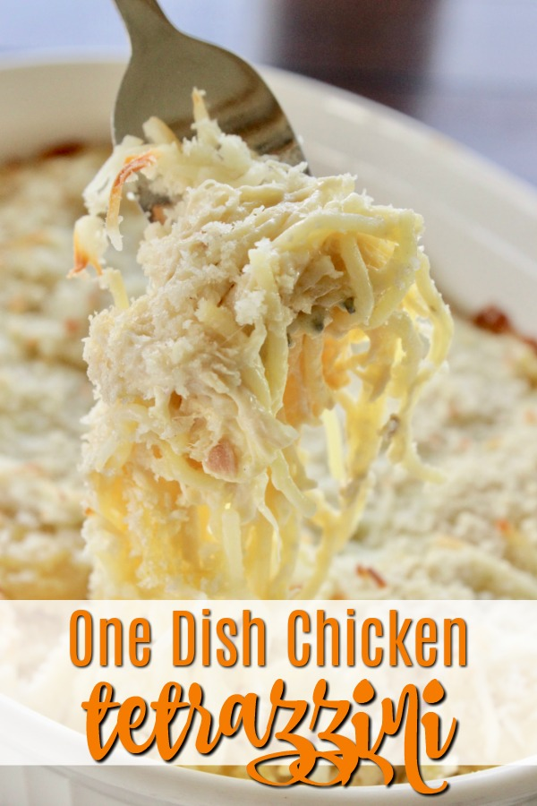 Looking for chicken recipes, casserole ideas for weeknight dinner recipes? This one dish chicken bake is easy and delicious! #chicken #onedish #weeknight #dinner