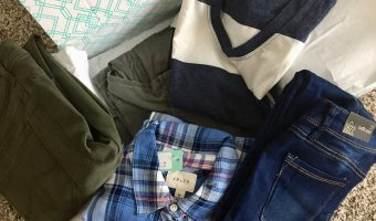 My February 2018 Stitch Fix Box