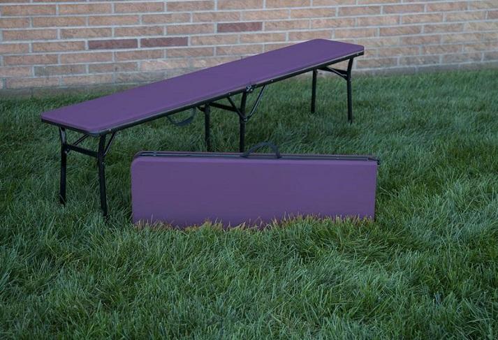 COSCO 6 ft. Indoor Outdoor Center Fold Bench