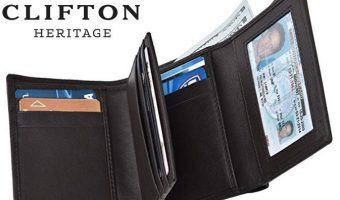 RFID Leather Men's Wallets $10.49 Today Only (reg. $14.99)