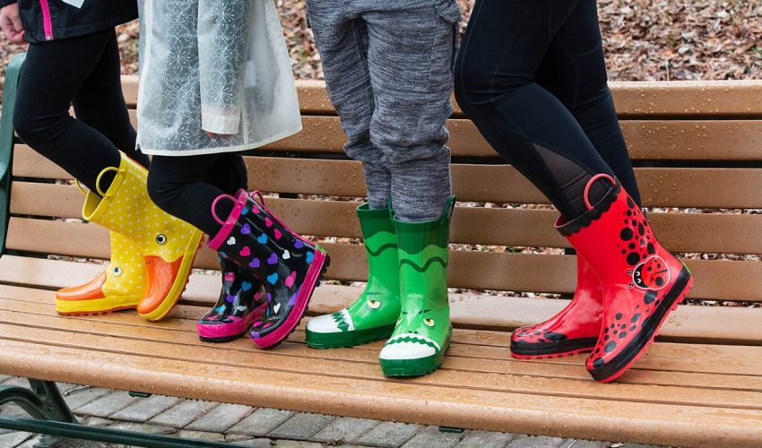 Toddler & Kids Rain Boots by Rainbow Daze As Low As $16.49 (reg. $29.99)