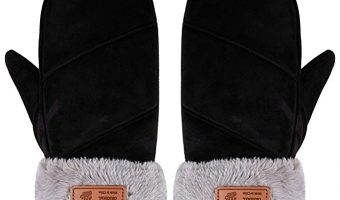 Arctic Paw Women's Sherpa Lined Mittens $14.99