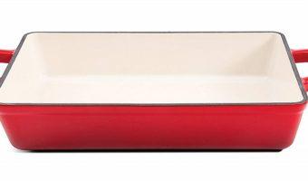 Crock Pot Enameled Cast Iron Lasagna Pan $27.14 (reg. $35.99)