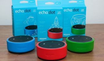 Bundle of 3 Echo Dot Kids Edition $99.97 (reg. $209.97)