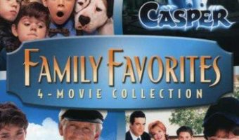 Family Favorites 4 Movie Collection on DVD $9.96