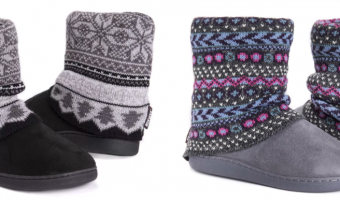 MUK LUKS® Raquel Slippers Ship for $13.99 (Reg. $40)