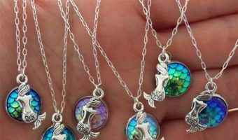 Mermaid Pendant Necklaces $1.59