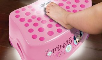 Minnie Mouse Step 'N Glow Step Stool $9 (reg. $18.99)