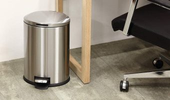 Stainless Steel 3 Gallon Step Pedal Trash Can $15.99 (was $20.62)