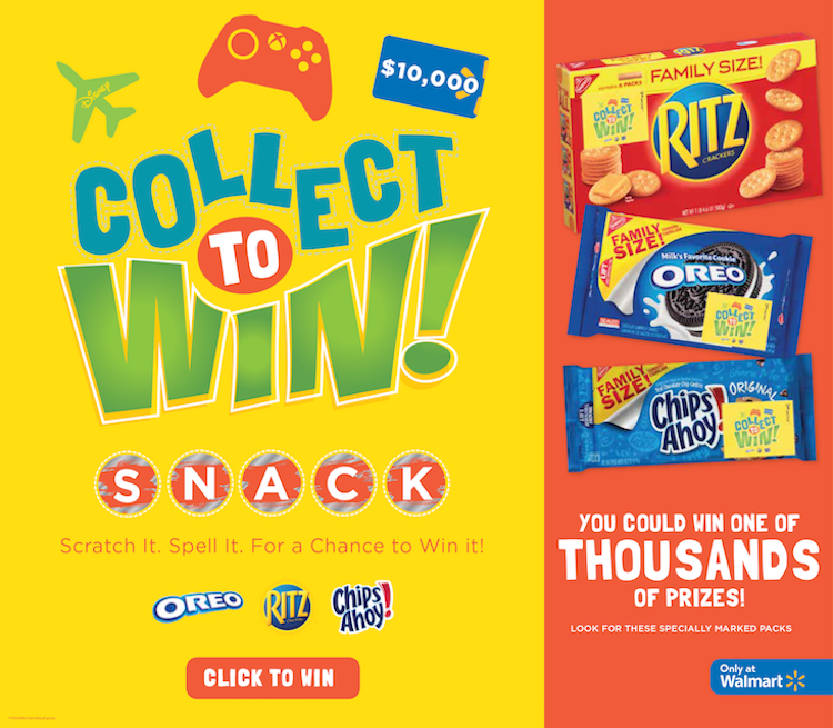 collect to win sweepstakes #spon
