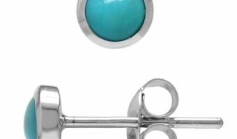 Sterling Silver and Turquoise Earrings $7.57 (reg. $17.99)