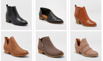 Target | Women's Boots Buy One Get One 50% Off!
