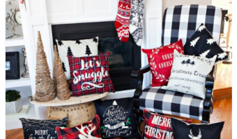 Christmas Pillow Covers + Free Shipping!