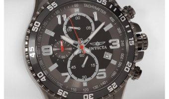 Invicta Men's Specialty Chronograph Stainless Steel Watch: $48.99 (reg $68.99)