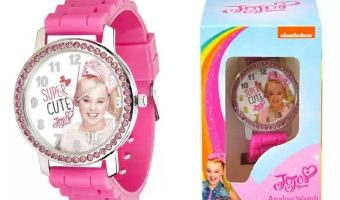 Girl's JoJo Siwa Watch with Rhinestones $9.99 (was $14.50)