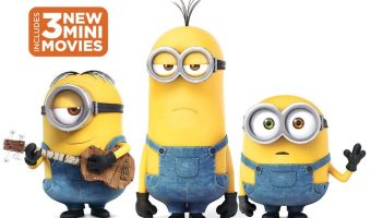 Minions (Blu-ray + DVD + DIGITAL HD) $3.99 (was $9.17)