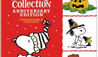 Peanuts Holiday Anniversary Collection on Blu-ray $9.99 (reg. $39.99)