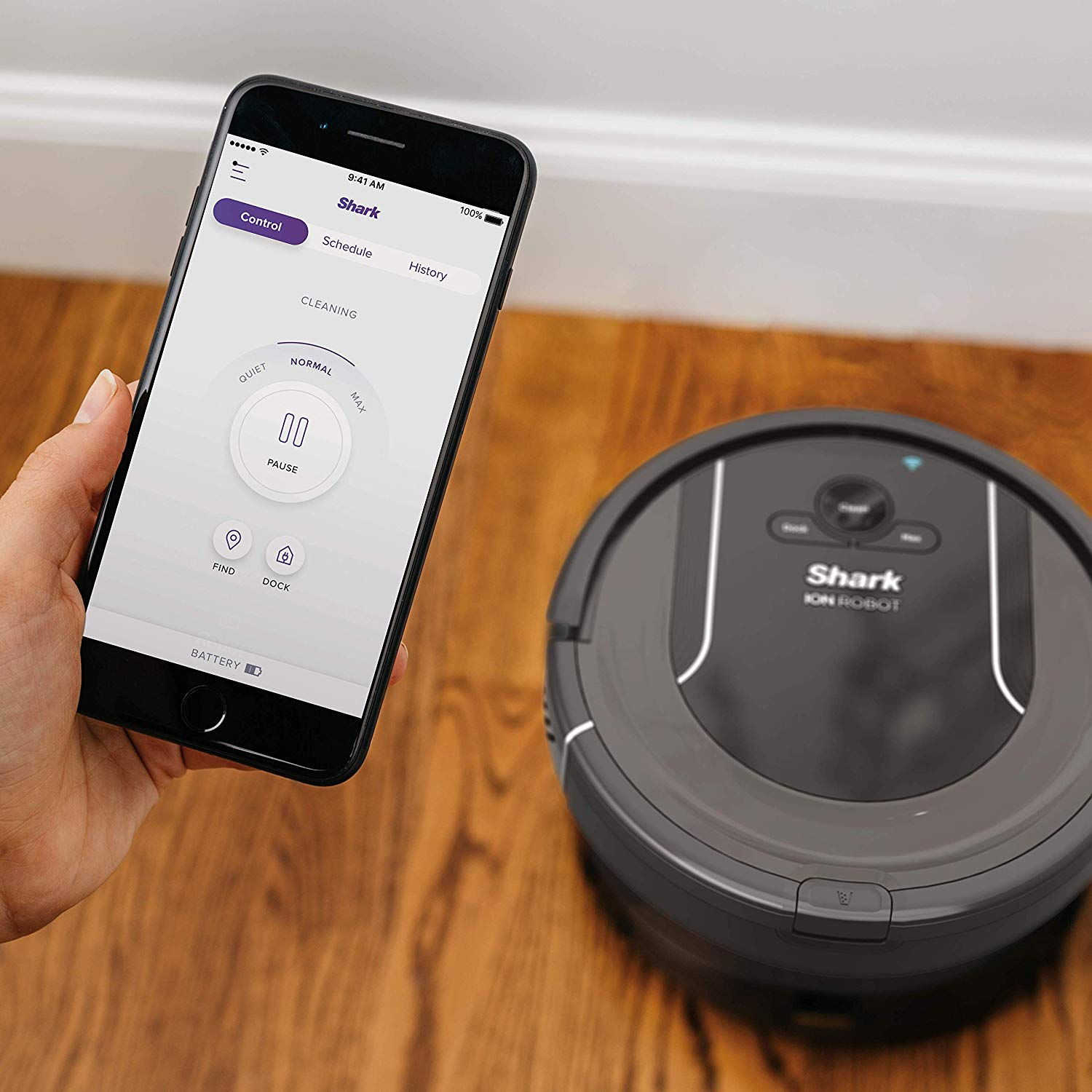 Shark Ion Wifi Connected Robot Vacuum 199 99 Today Only