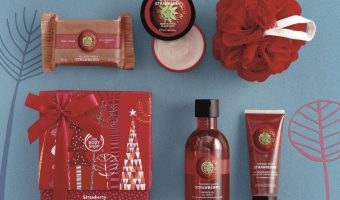 The Body Shop Strawberry Gift Set $14.22 (reg $20)