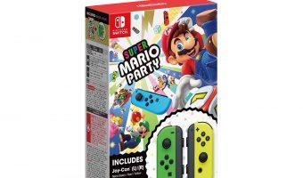 Pre-order Super Mario Party + Joy-Con Set – Nintendo Switch $99.99