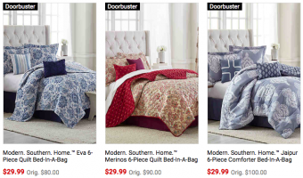 Macy's King Size Bed-in-a-Bag Sets ONLY $17.99!